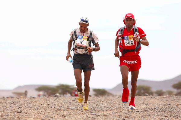 Rachid-El-Morabity-and-Salameh-AL-Aqra-2014-Marathon-des-Sables-Stage-5