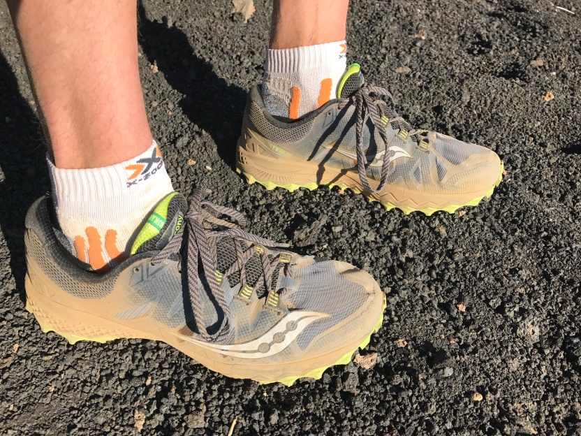 Using Saucony Peregrine 7 - these trainers were really great